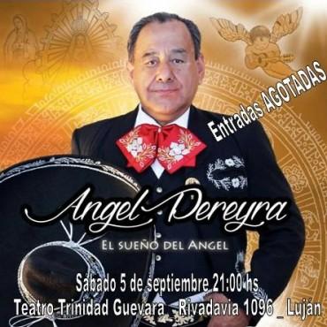Ángel Pereyra presenta nuevo disco: Sueños de un Ángel