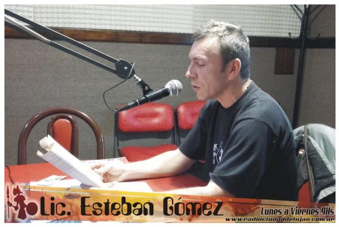 """""""Transgresión y Adolescencia"""" por el Lic. Esteban Gomez"""