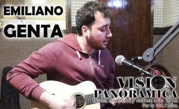 Emiliano Genta en el acústico de Visión Panorámica