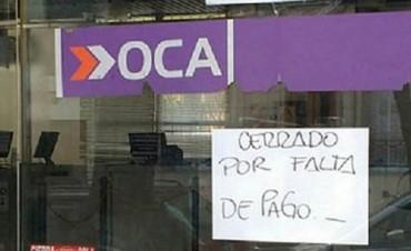 Paro de los trabajadores del Correo OCA