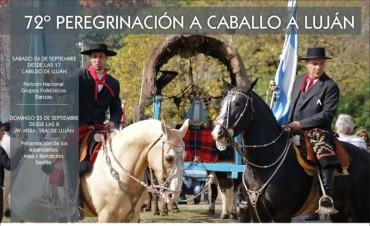 Este fin de semana se realiza la 72° Peregrinación Gaucha