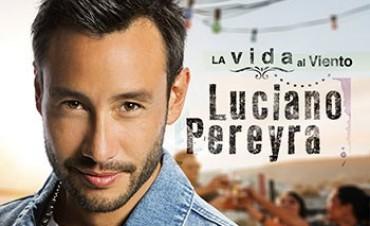 """Luciano Pereyra presenta su nuevo álbum """"La vida al viento"""""""