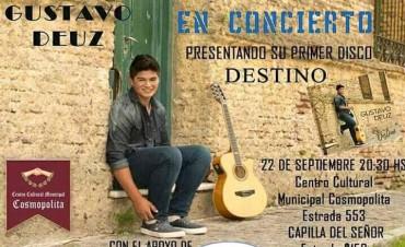Gustavo Deuz presenta su primer disco