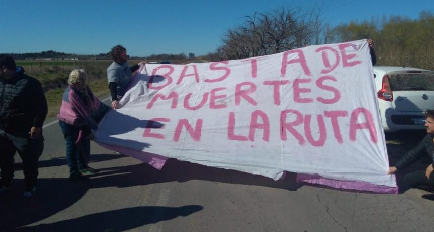 Vecinos de Carlos Keen reclaman medidas de seguridad vial