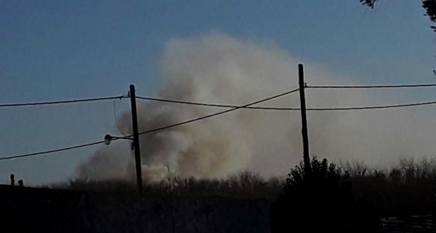 Otra vez humo del basural en los barrios