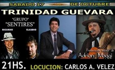 Carlos velez conducirá el espectáculo de Sentires y Adrián Maggi en Luján.