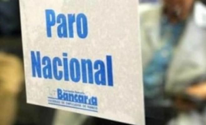 Bancarios vuelven a parar las últimas 3 horas de atención martes y miércoles