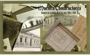 Muestra constructores: fachadas construidas entre 1880 y 1930