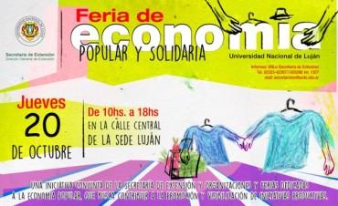 Nueva edición de la Feria de Economía Popular y Solidaria en la UNLu