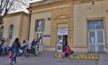 Marcha de las victimas del hospital municipal