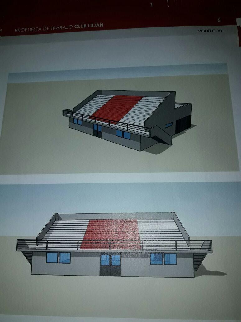 """Diego Higuero: """"El proyecto de la tribuna en el Predio del barrio San Emilio es el sueño de todos los hinchas de Luján"""""""