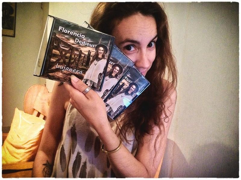 """""""Lujanera"""" el nuevo disco de Florencia Dedieus"""