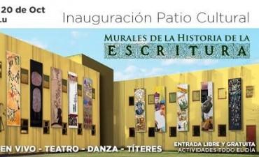 La UNLu inaugura el Patio Cultural