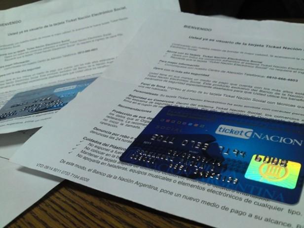 Reempadronamiento para los beneficiarios de la Tarjeta Ticket Nación