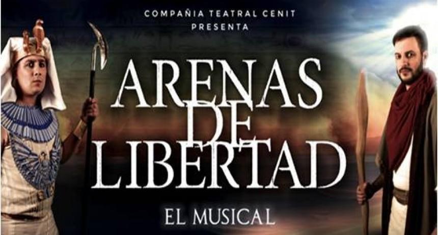 """El musical """"Arenas de libertad"""" llega al Teatro Municipal"""