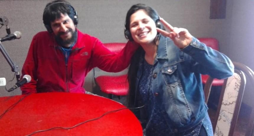 Dipi Carabajal y Gretel Toloza en Luján