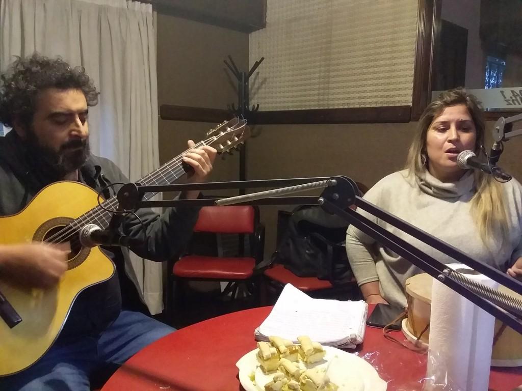 María de los Angeles Lupercio y Andrés Espil visitaron Visión Panorámica