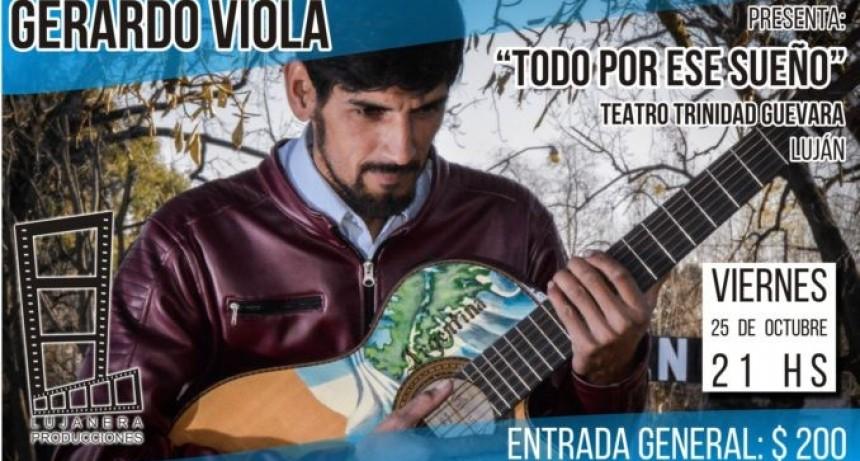 """Gerardo Viola presenta """"Todo por ese sueño"""""""