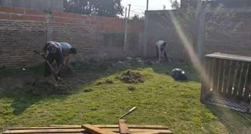 Buscan generar huertas solidarias en el barrio Ameghino