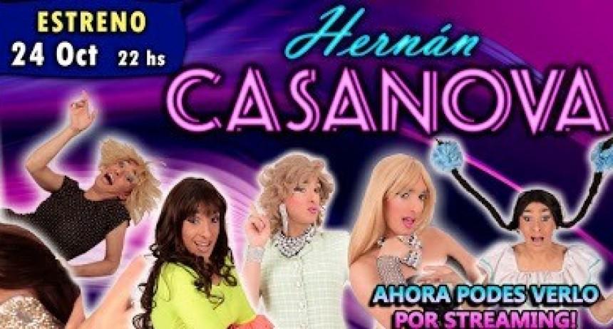 Hernán Casanova presenta su show de humor por streaming