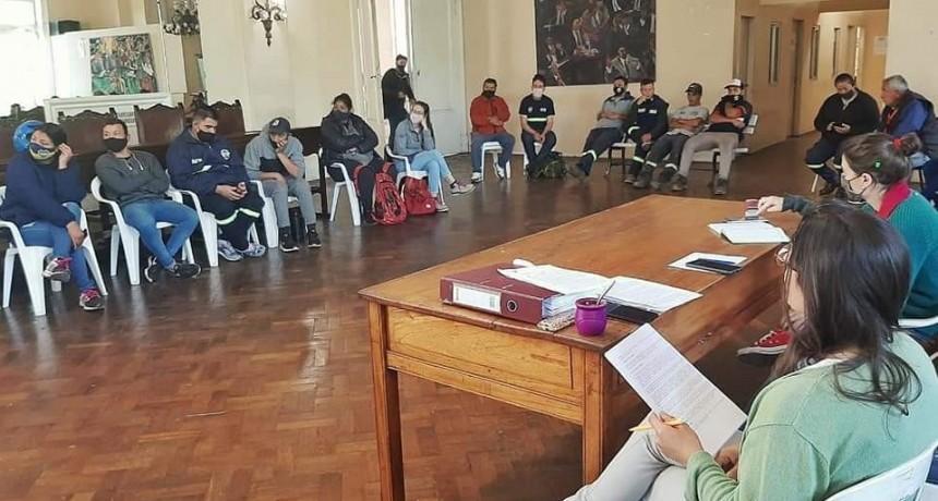 Primera reunión de la Comisión de Seguimiento de la Reconversión del Basural