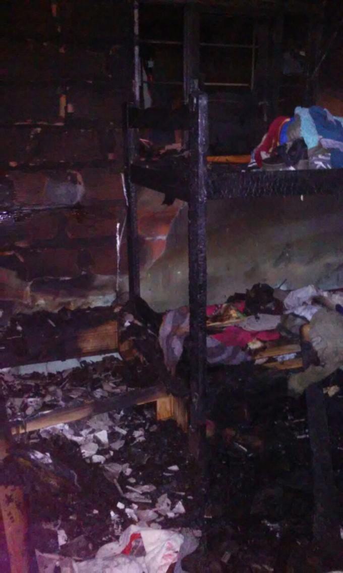 Se incendió una vivienda en el barrio Ceibo