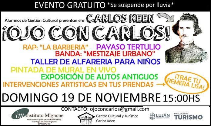 ¡Ojo con Carlos! un misterioso evento desembarca en Carlos Keen