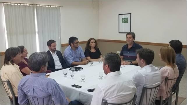 Leo Boto presentó a su equipo de gobierno