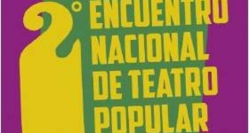 Segundo Encuentro Nacional de Teatro Popular en Open Door