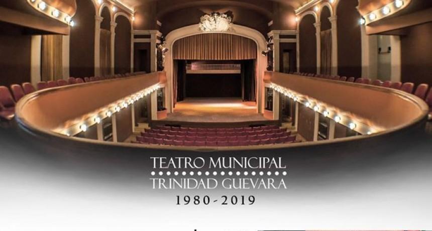 El Teatro Municipal celebra su 39° aniversario
