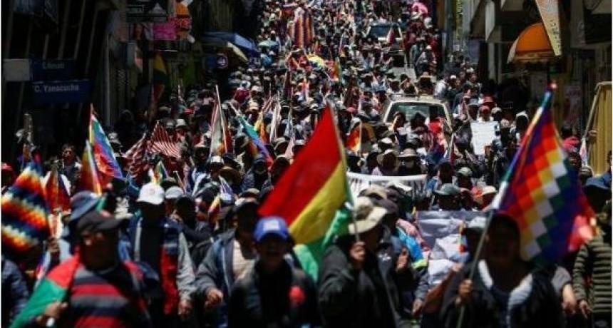 Jornada crucial en Bolivia