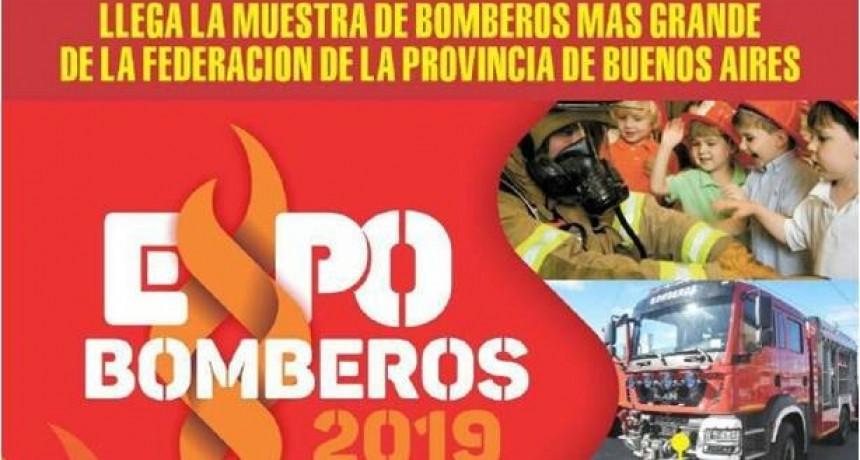 """Llega a Luján """"Expo Bomberos 2019"""""""
