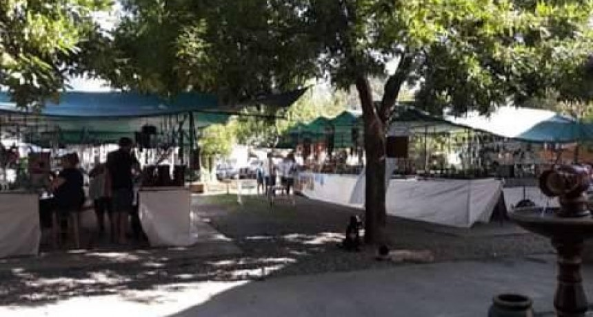 Vuelve la Feria de Artesanos con un 50% de capacidad