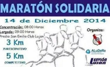 Maratón Solidaria en el predio del barrio San Emilio