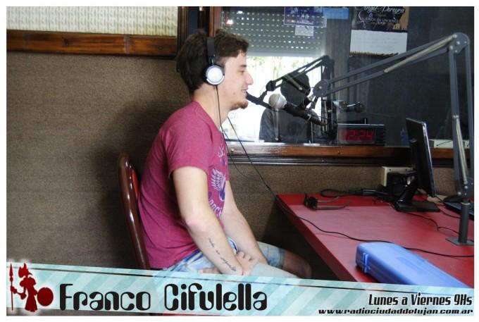 Franco Cifulella se presentará esta noche en -La Trova-