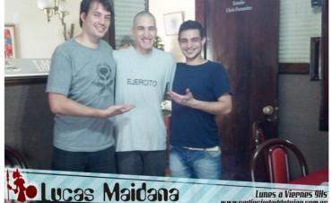 La ultima receta de Lucas Maidana en Ladran Sancho