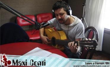 Maxi Conti en Ladran Sancho