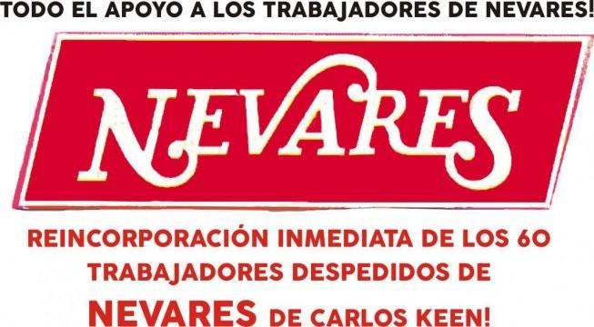 Despidos en Nevares, un acuerdo para pasar las fiestas