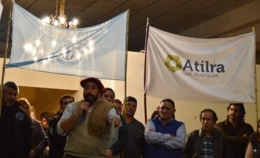 """Reincorporación de Rafael Molina: """"Los trabajadores nacimos para esto, para trabajar y para luchar por nuestros derechos"""""""