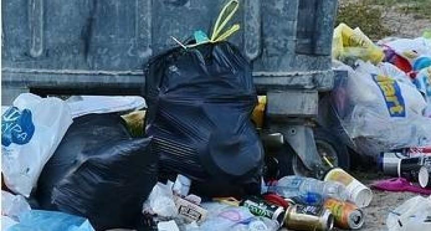 Graves problemas por falta de recolección de residuos