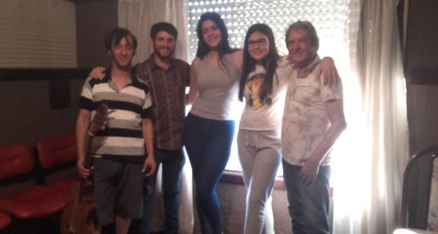 Iriel Ríos Moreira y sus músicos visitaron Visión Panorámica