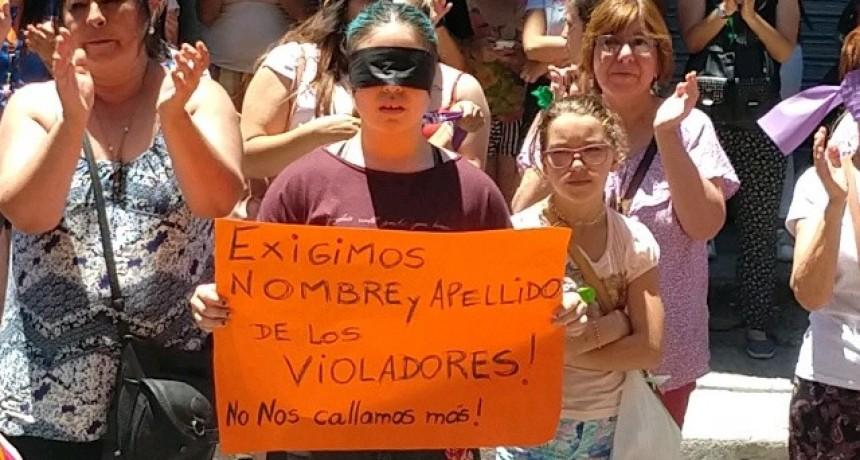 """""""Los violadores caminan con libertad y las mujeres con miedo"""""""